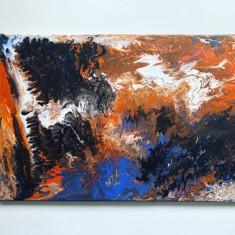 Tablouri canvas pictate manual Abstract Art Studio modele unice