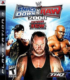 WWE Smack Down vs Raw  2008  - PS3 [Second hand], Actiune, 16+, Multiplayer