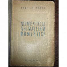 ALIMENTATIA ANIMALELOR DOMESTICE - I.S.POPOV