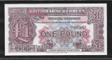 Britis Armed Forces 1  Pound   -UNC