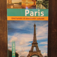 PARIS .Ghid de calatorie Booklet