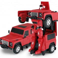 Land Rover Transformer 1:14 2.4GHz RTR - Rosu