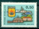 Finlanda 1970 - Aniversare 1v.neuzat,perfecta stare(z), Nestampilat