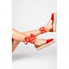 Sandale Rosii Oreo, 34 - 41