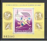 Romania.1980 Olimpiada de vara MOSCOVA-colita  HR.397, Nestampilat