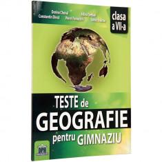 Teste Geografie Cls a VII-a