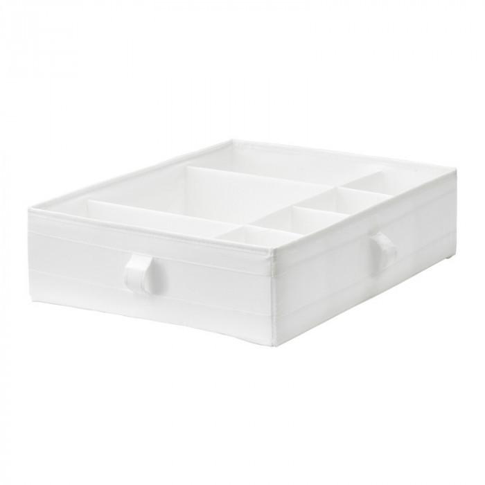 Organizator tip cutie, 44 x 34 x 11 cm, manere laterale