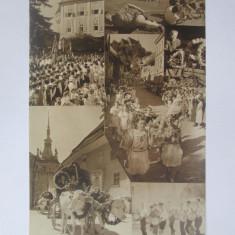 Cumpara ieftin Rara! Carte postala-foto Agfa ed.limitata festivalul sasesc Sighisoara anii 40