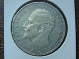 Moneda aergint 5 Leva 1894 (cc12), 25 gr, Europa