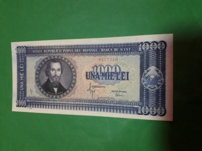 Bancnote romanesti 1000lei 1950 aunc plus foto