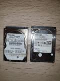 lot 2 harduri SATA pentru laptop -320 Gb - TOSHIBA - pentru  piese -