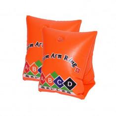 Aripioare gonflabile pentru inot, model copii, 2 bucati, portocaliu