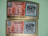 QU'AITI STATE IN HADHRAMAUT, EFIMEX MEXICO CITY 1968 - MNH PERF. + IMPERF.