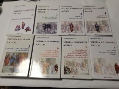 Istoria filosofiei antice 1, 2, 3, 4, 5, 6, 7, 8 – Giovanni Reale (8 vol.) foto