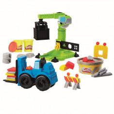 Pasta de modelat Play-Doh Macara si stivuitor