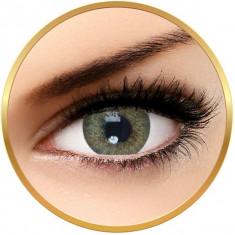 Solotica Hidrocor Jade - lentile de contact colorate verzi anuale - 365 purtari (2 lentile/cutie)