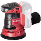 Raider - RDP-SRSA20 - Slefuitor cu excentric fara acumulatori si incarcator, 20 V, - Ah, 125 mm, turatie reglabila