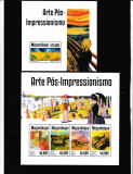 Mozambique 2014 - Pictura - POST- IMPRESIONISM - BL+KB - NESTAMPILATE