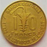 Moneda exotica 10 FRANCI - AFRICA de VEST, anul 1978 *cod 2174 = excelenta