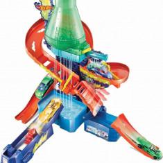 Set de joaca Hot Wheels culori schimbatoare - Laboratorul stiintific