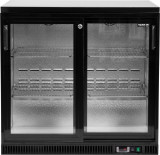 YATO GASTRO Vitrina frigorifica 200W,227L cu doua usi glisante