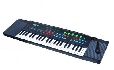 Orga electronica cu multiple functii si microfon Miles 3738 foto