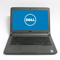 Laptop Dell Latitude 3340, Intel Core i3 Gen 4 4005U 1.7 GHz, 4 GB DDR3, 256 GB SSD NOU, Wi-Fi, Bluetooth, WebCam, Display 13.3inch 1366 by 768, 3