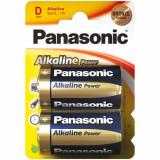 Set 2 Baterii Tip D Alkaline Power
