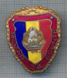 "AX 65 INSIGNA MILITARA - ,,MILITAR DE FRUNTE"" - PENTRU COLECTIONARI"
