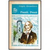Poezii - Proza, Grigore Alexandrescu