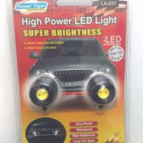 Lumini LED Daylight ( lumini de zi ) - set doua proiectoare DRL 225