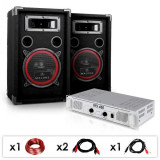 "Electronic-Star DJ PA SET ""DJ-15"" Amplificator PA, SPEAKER, 1000W"