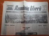 Ziarul romania libera 10 aprilie 1990-miting electoral de florii