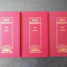 MIHAI EMINESCU - POEZII 3 volume