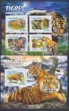 Cumpara ieftin DB1 Fauna Asiatica Sao tome Tigri MNH, Nestampilat