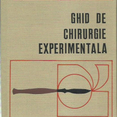 AS - CAPATINA V. - GHID DE CHIRURGIE EXPERIMENTALA