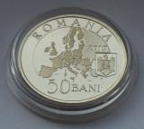 50 bani 2019 Proof, Presedintia Consiliului UE, Lupul Dacic