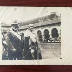 Romania - Regele Ferdinand si Regina Maria la Alba Iulia - Fotografie Originala