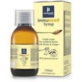 Sirop pentru Gat Iritat cu Miere si Ghimbir Immuneed Myelements 150ml Cod: 3041