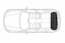Covor portbagaj tavita Mercedes-Benz V Marco Polo (W447) 2014-> COD: PB 6435 PBA1 Mall