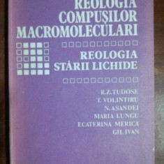 Reologia compusilor macromoleculari 3- R. Z. Tudose, T. Volintiru