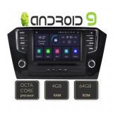 Navigatie dedicata VW Passat 2015- EDT-G1035-8CORE cu Android GPS USB Radio Internet Bluetooth Octa Core CarStore Technology