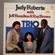 Judy Roberts/Jeff Hamilton/Ray Brown – TRIO (1983/Pausa/Italy) - Vinil/Jazz/M