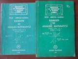 Elemente de analiza matematica pentru clasa a XI-a 2 volume-Mircea Ganga