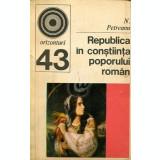 Republica in constiinta poporului roman