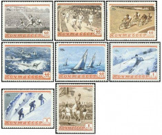 URSS 1954 - sport, serie neuzata foto