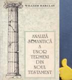 Analiza semantica a unor termeni din Noul Testament William Barclay
