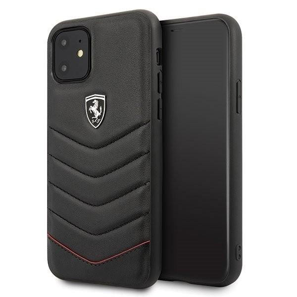 Husa Ferrari pentru Apple iPhone 11 Black