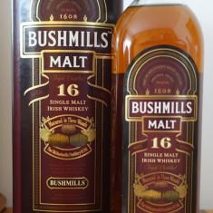 Whiskey Irlandez BUSHMILLS 16 ANI THREEWOOD 0.7L 70cl / 40%