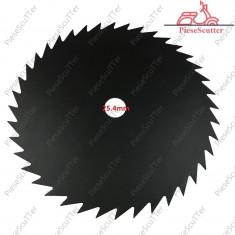 """Disc Taietor - Lama Trimmer 10"""" - 40 Dinti Motocoasa Moto Coasa Moto Cositoare"""